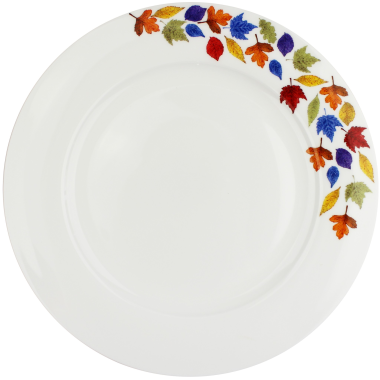 Lucy Green Designs - Falling Leaves Dinner Plate