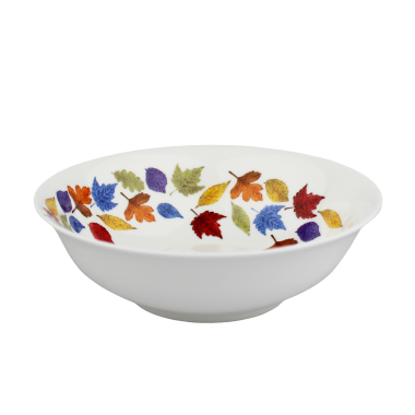Lucy Green Designs - Falling Leaves Cereal Bowl