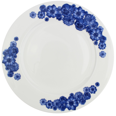 Lucy Green Designs - Floral Dinner Plate