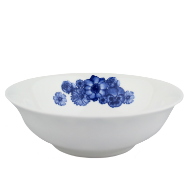 Lucy Green Designs - Floral Cereal Bowl