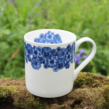 Lucy Green Designs - Floral Mug