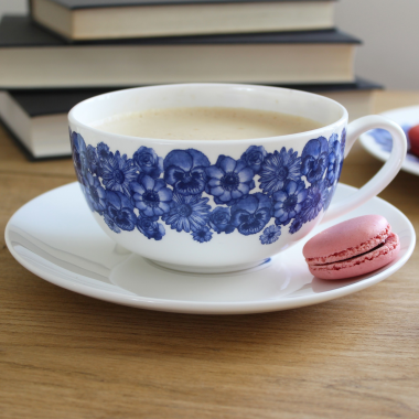Lucy Green Designs - Floral Breakfast Cup & Saucer