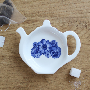 Lucy Green Designs - Floral Tea Tidy