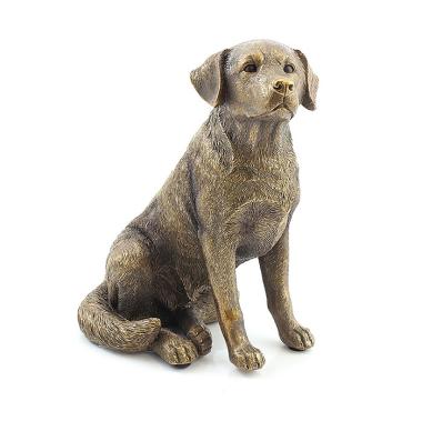 Bronze Effect Labrador Figurine