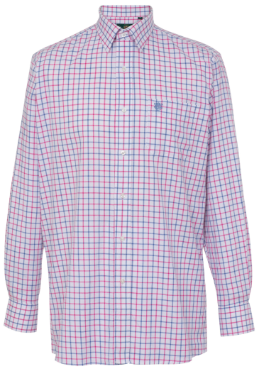 Alan Paine Ilkley Kids Shirt (Pink & Blue) - age 11-12