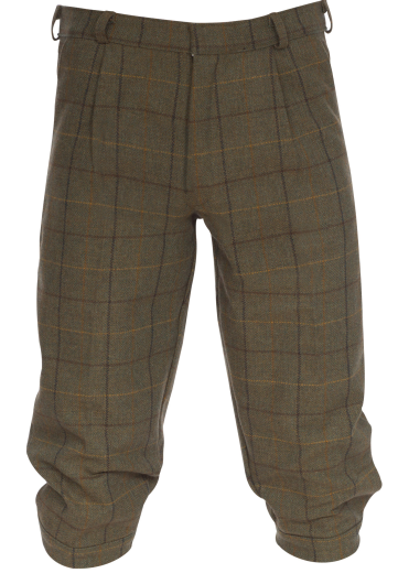 Alan Paine Rutland Kids Tweed Breeks (Dark Moss)