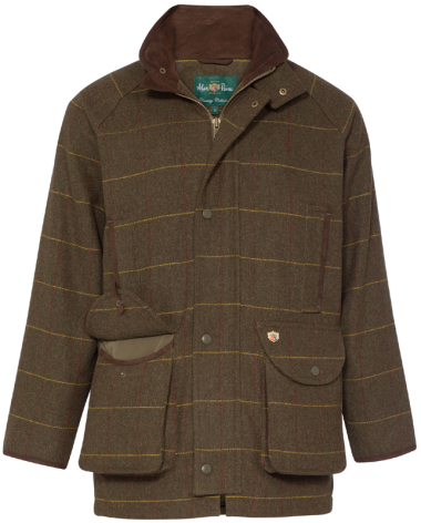 Alan Paine Compton Mens Field Coat (Forest Green)