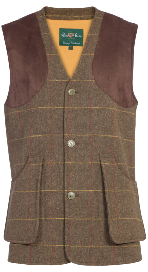 Alan Paine Compton Men's Waistcoat (Forest Green)