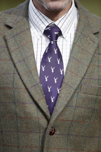 Toggi Terence Mens Stag Silk Tie