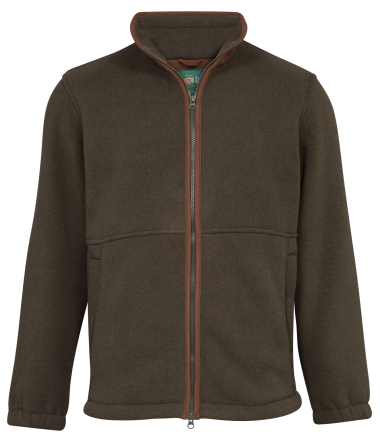 Alan Paine Aylsham Mens Fleece Jacket (Green)