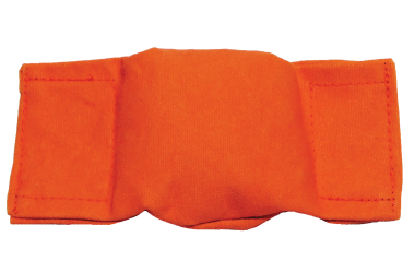Beanbag Puppy Dummy - Orange