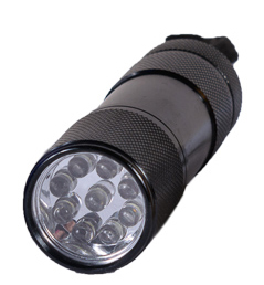 Black LED Torch