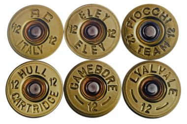 Mixed Shotgun Cartridge Coasters