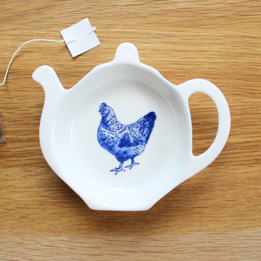 Lucy Green Designs - Chicken Tea Tidy