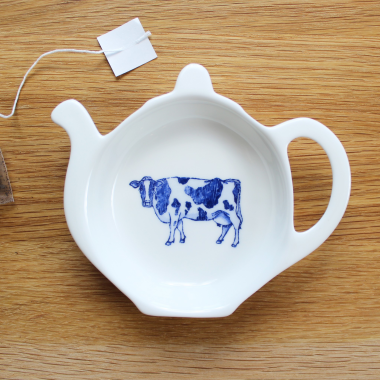 Lucy Green Designs - Cow Tea Tidy