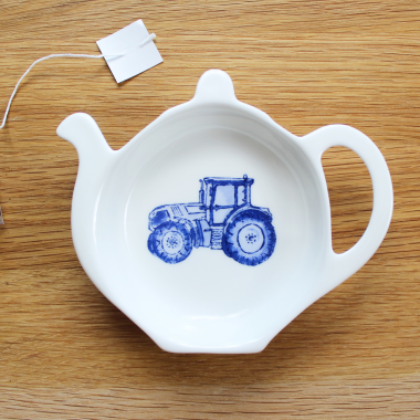Lucy Green Designs - Tractor Tea Tidy
