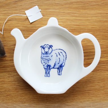 Lucy Green Designs - Sheep Tea Tidy