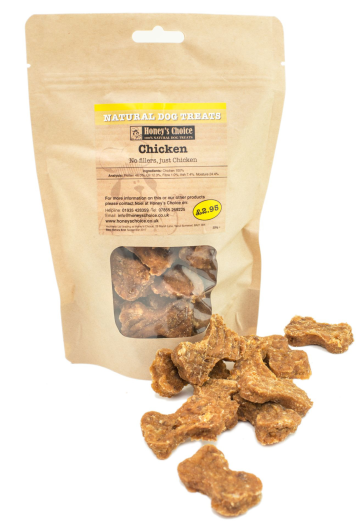 Honey's Choice Natural Dog Treats (Chicken)