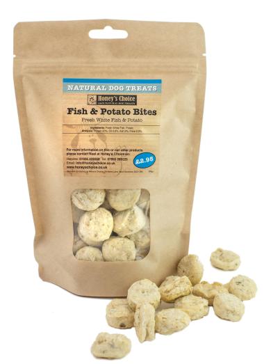 Honey's Choice Natural Dog Treats (Fish & Potato)