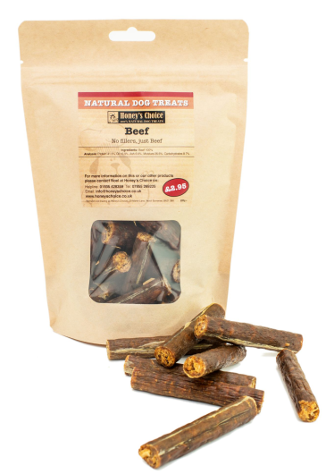 Honey's Choice Natural Dog Treats (Beef)