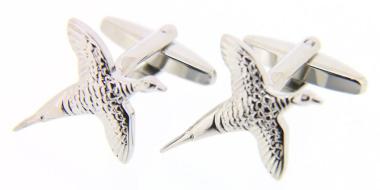 Flying Pheasant Cufflinks