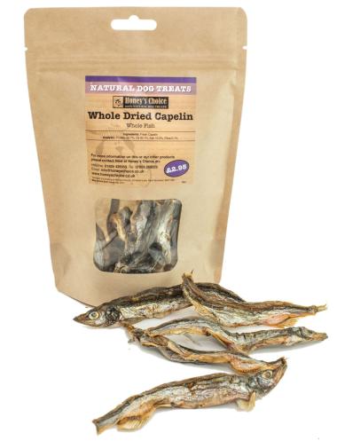 Honey's Choice - Whole Dried Capelin