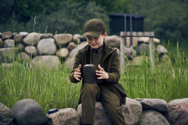 Seeland Kids Winster Softshell Waistcoat Black Coffee