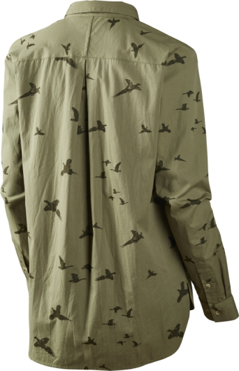 Seeland Lady Pheasant Shirt in Dusky Green
