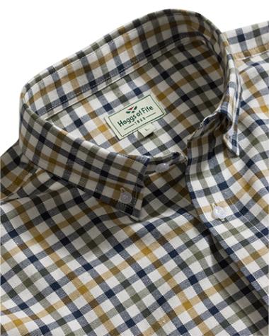 Hoggs of Fife Trevose Short Sleeve Shirt - SIZE MEDIUM