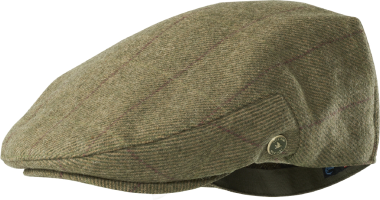 Ragley Flat Cap (Moss Check)