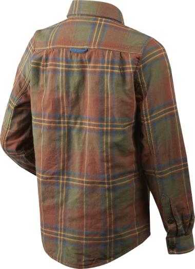 Seeland Nolan Kids Shirt (Sequoia Rust Check)