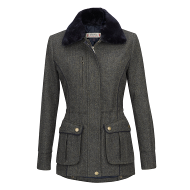 Jack Murphy Ashley Tweed Ladies Jacket (Winter Rust Herringbone)