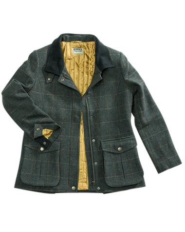 Hoggs of Fife Sherborne Ladies Tweed Field Coat