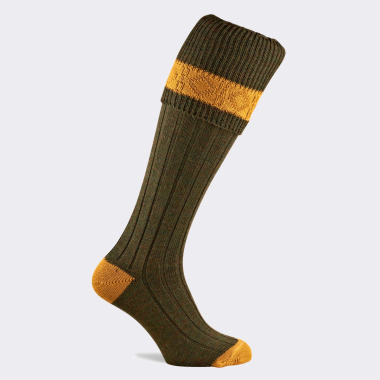 Pennine Children's Byron Shooting Socks - Greenacre