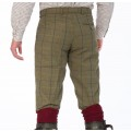 Alan Paine Rutland Tweed Breeks (Dark Moss) - SIZE 40