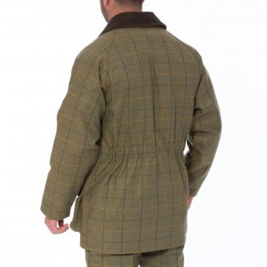 Alan Paine Rutland Tweed Coat (Dark Moss) - SIZE SMALL