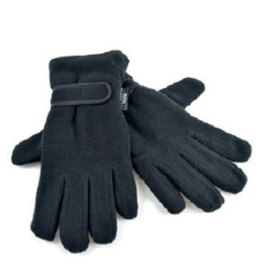 Ladies Fleece Gloves - Black