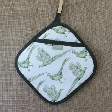 Lucy Green Designs - Pheasant Pot Grab