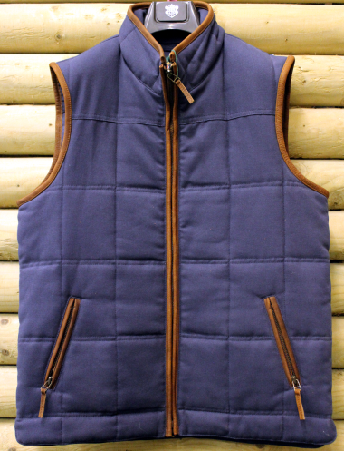 Alan Paine Kexby Men's Gilet (Navy)