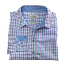 Hoggs of Fife Becky Ladies Cotton Shirt