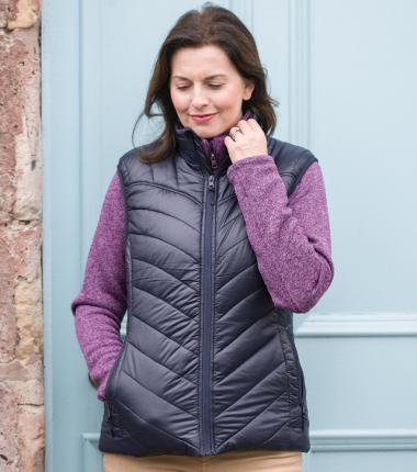 Hoggs Of Fife Millie Soft Padded Gilet