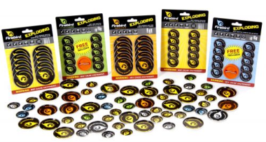 Air Flash Firebird Reactive Targets Pack of 10