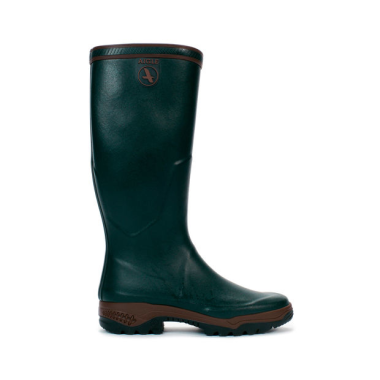 Aigle Parcours 2 Wellington Boots (Unisex) - Bronze (Dark Green)