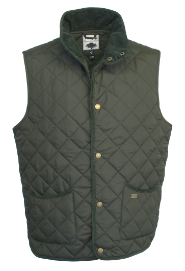 Toggi Tiverton Mens Quilted Gilet - size small