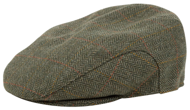 Hoggs of Fife Edinburgh Tweed Waterproof Cap