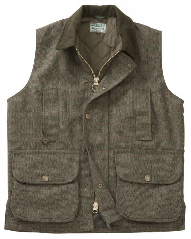 Hoggs of Fife Edinburgh Tweed Waistcoat - SIZE SMALL