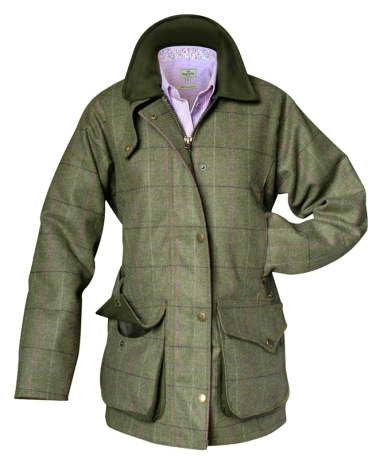 Hoggs of Fife Caledonia Ladies Tweed Shooting Jacket - size 18