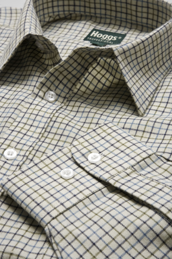 Hoggs of Fife Poly/Cotton Check Shirt