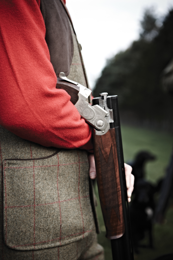 Alan Paine Compton Tweed Waistcoat (Sage) - size medium