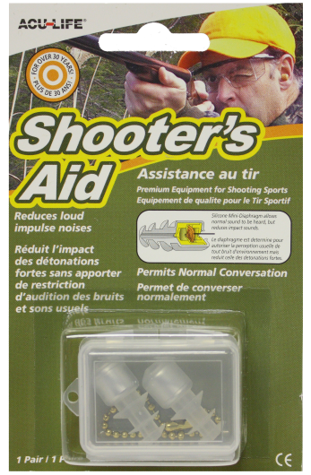 Shooter's Aid Ear Valves